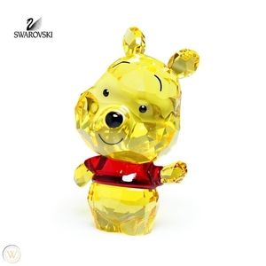 Swarovski Disney Cuties Winnie The Pooh Figurine